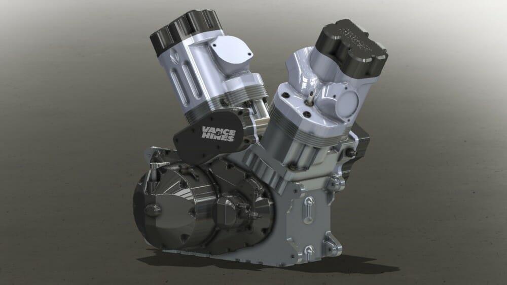 Vance & Hines V-Twin Engine