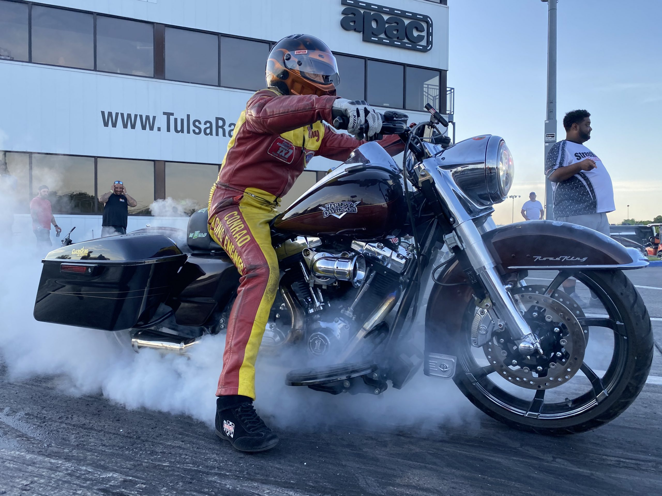 Harley Burnout
