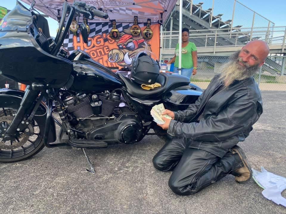 Harley Rider Wins Big Money