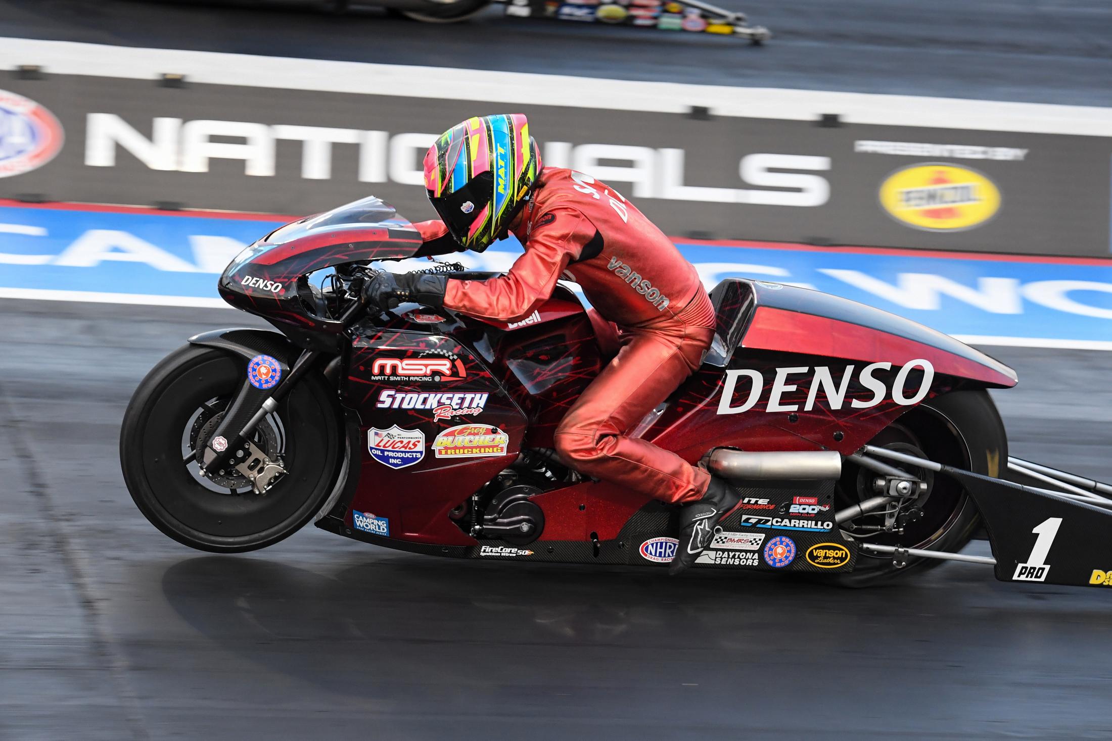 Matt Smith Pro Stock Motorcycle