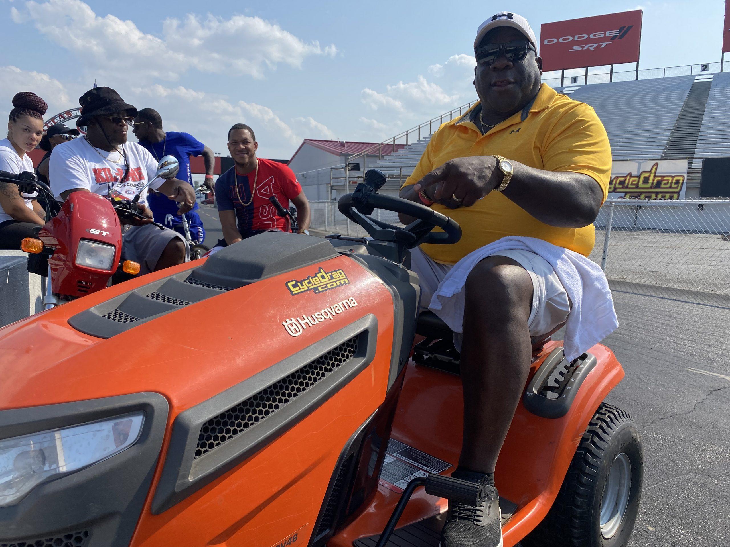 Drag Racing Tractor