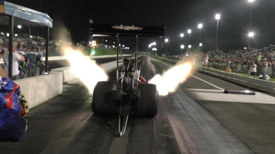 Keystone Raceway Top Fuel Dragster