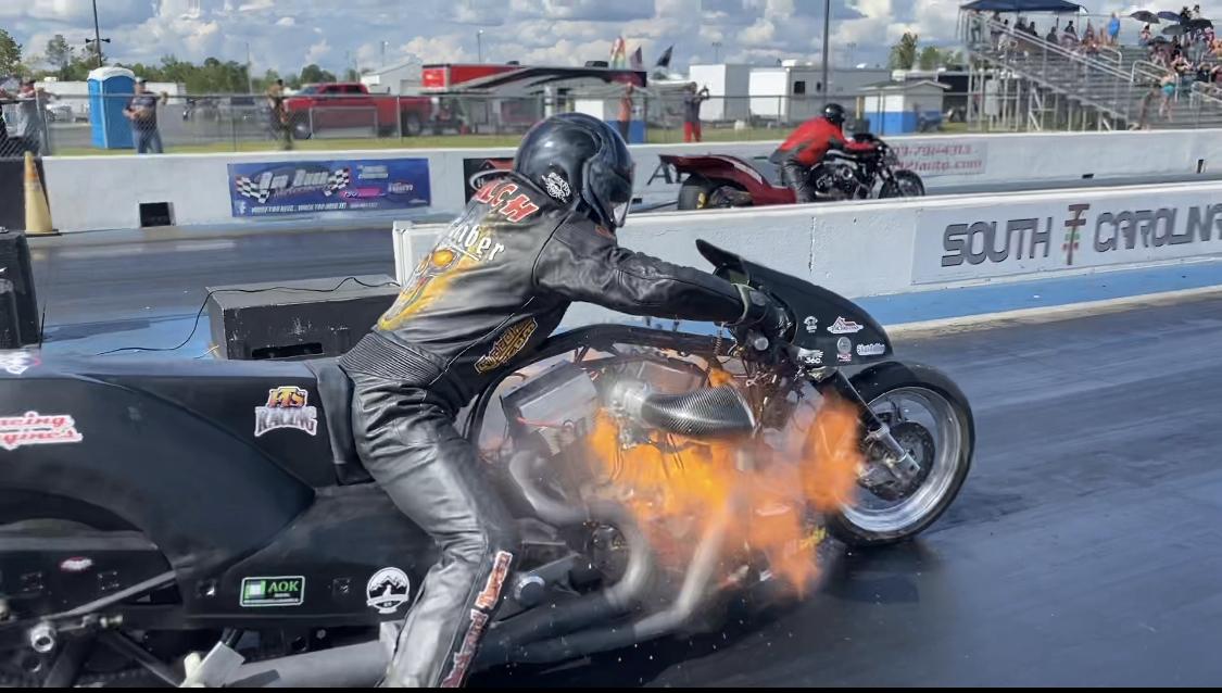 Nitro Harley Explosion