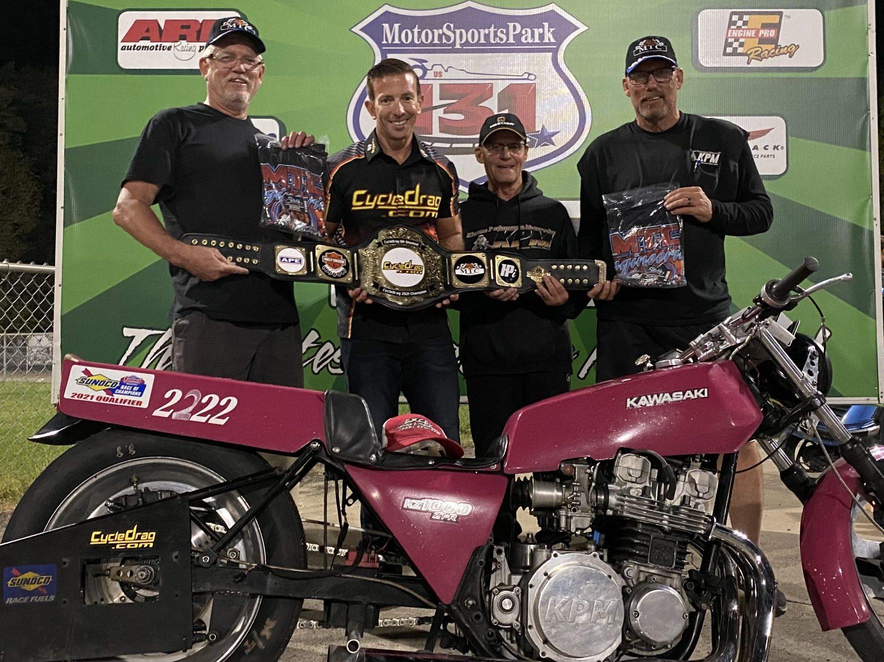 Tom Klemme Kawasaki Z1R Winner's Circle